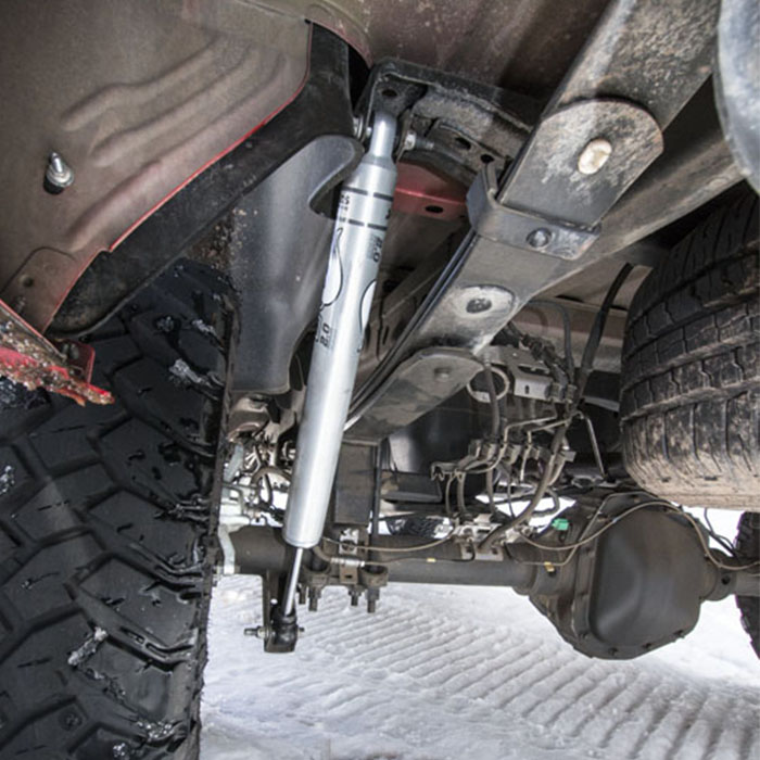 """Lifted 2004 Ford Expedition >> 1999-2004 F250 & F350 BDS Fox 2.0 Rear Shocks for 8"""" Lift Kits 98224765"""