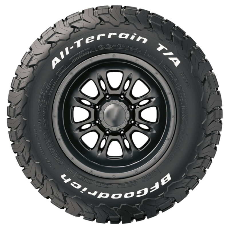 lt265 70r17 bf goodrich all terrain t a ko2 off road tire bfg66255. Black Bedroom Furniture Sets. Home Design Ideas