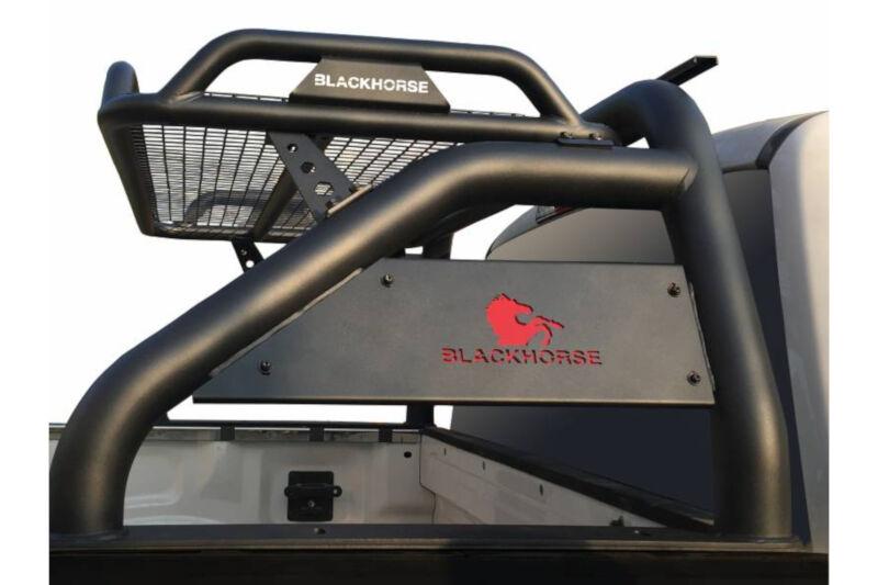 2009-2019 F150 & Super Duty Black Horse Atlas Series Roll Bar (Black) RB-BA1B