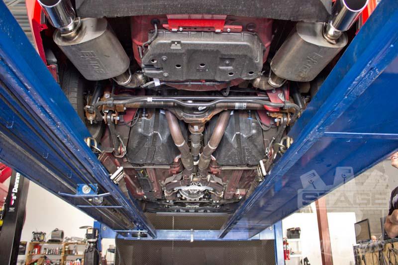 2011-2012 Mustang GT 5.0L Borla S-Type Axle-back Exhaust ...