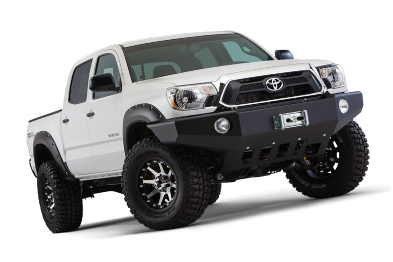 For 2012-2015 Toyota Tacoma Pocket Style Bolt On Rivet Fender Flares Smooth Set