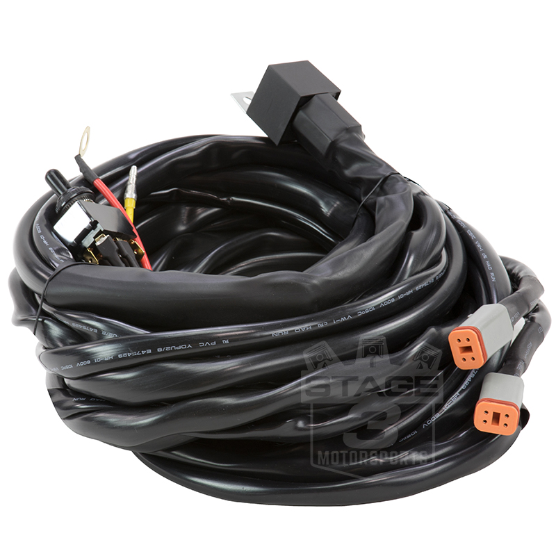baja designs dual lp9 pro wiring harness 640172. Black Bedroom Furniture Sets. Home Design Ideas