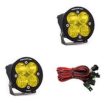 Baja Designs Squadron-R Pro Edition Driving/Combo LED Light - Amber (Pair)