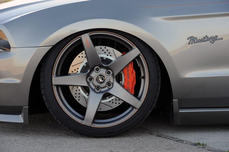 2005 2014 Mustang Gt Baer Extreme 14 Quot Brake Kit Front