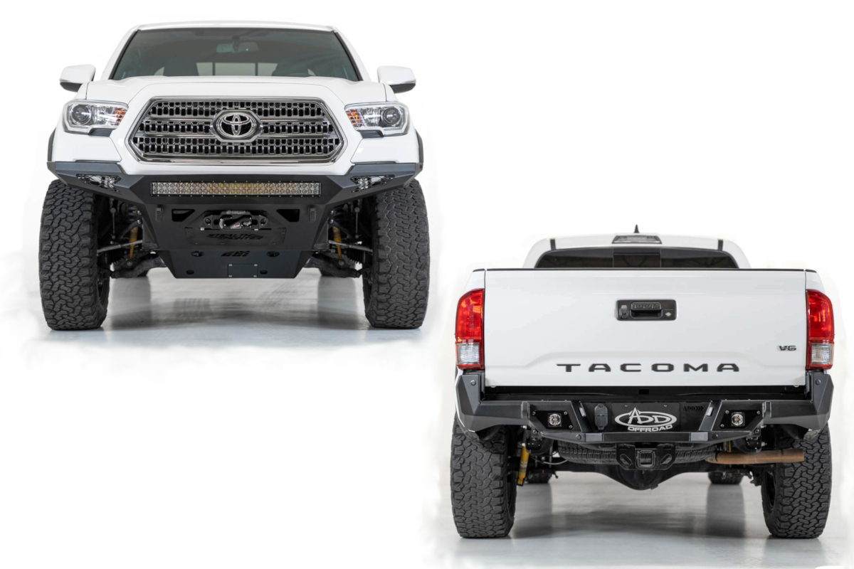 Toyota Tacoma ADD Stealth Fighter Bumpers