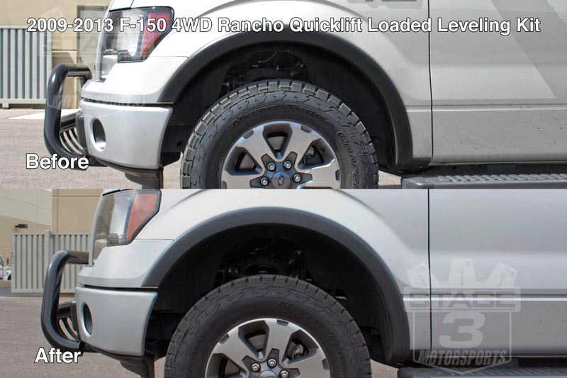 2009 2013 F150 4wd Rancho Quicklift Loaded Leveling Kit