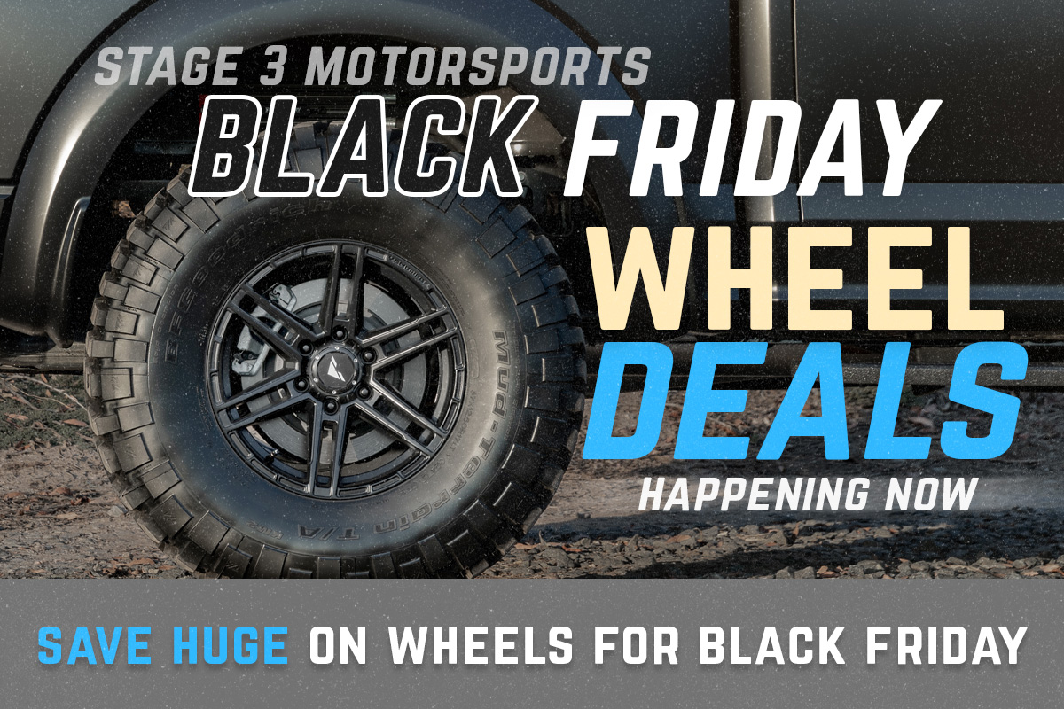 Stage 3's 2019 Black Friday & Cyber Monday Wheel Deals!