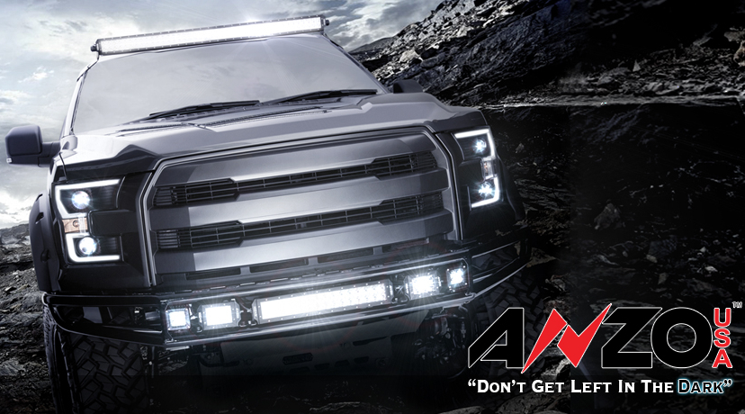 2015-2016 F150 ANZO Projector DRL Strip Headlights Coming Soon!