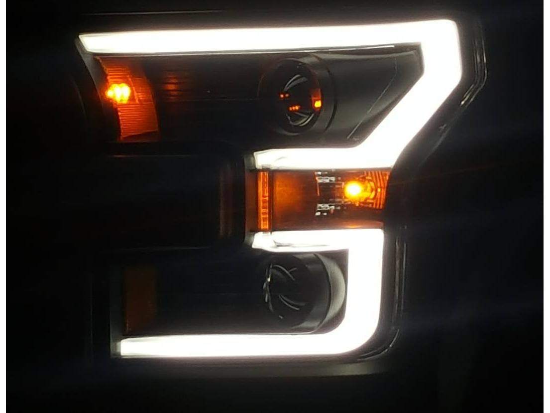 Anzo F Headlights Installed