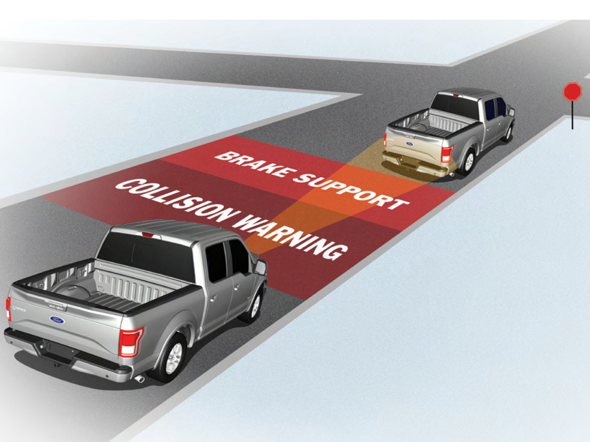 2015 F150 Adaptive Cruise Control Example
