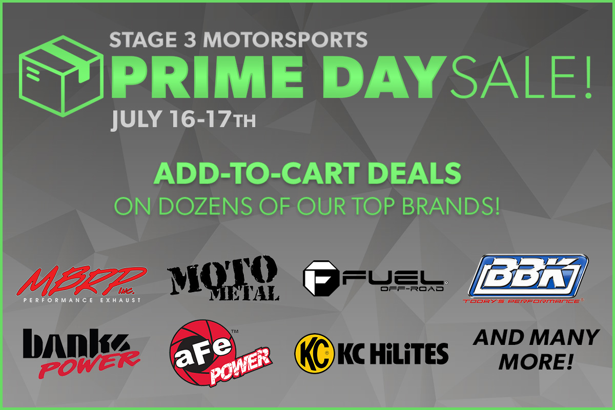 Stage 3's Prime Day Deals and Discounts
