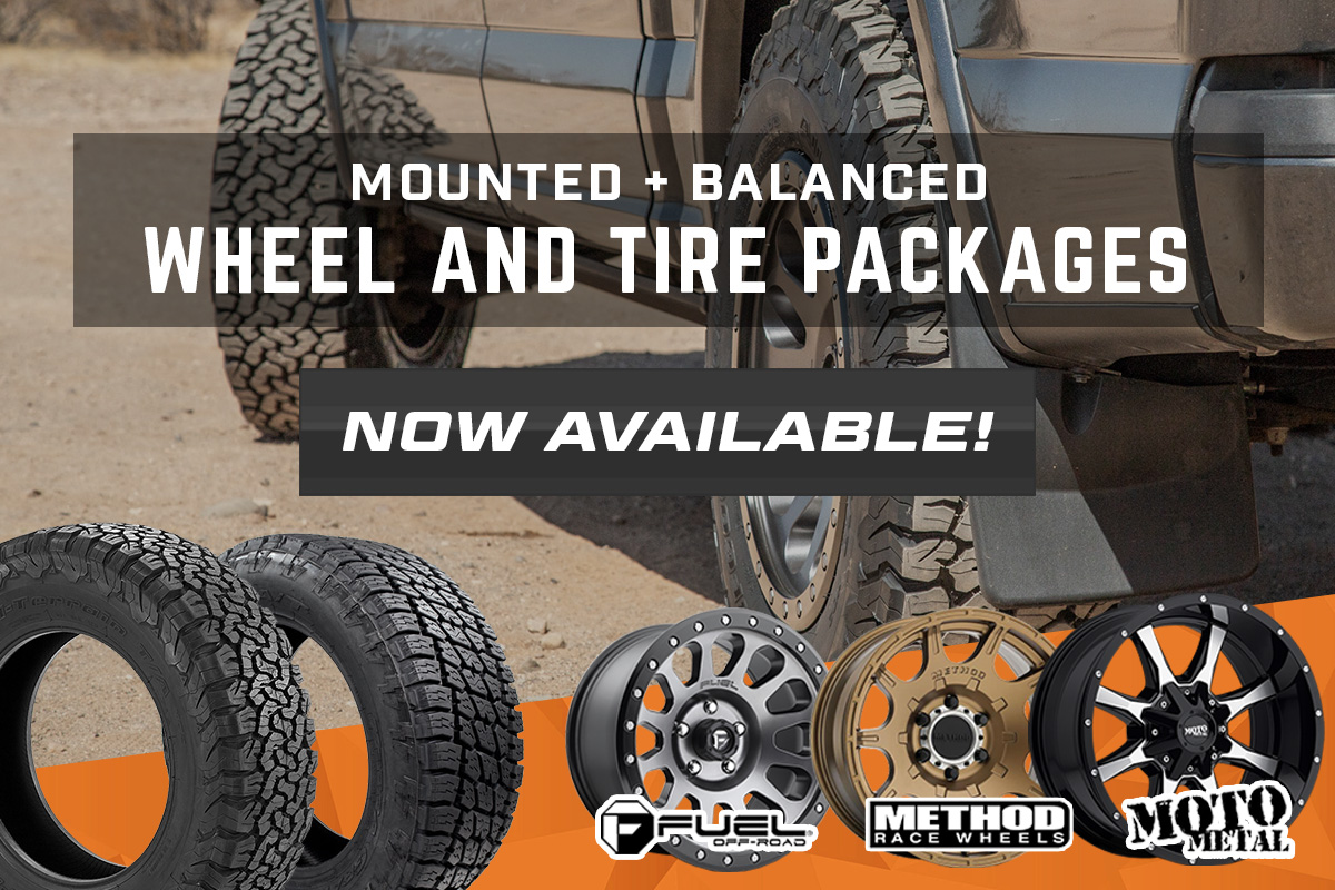 F150 Wheel & Tire Packages at Stage 3!
