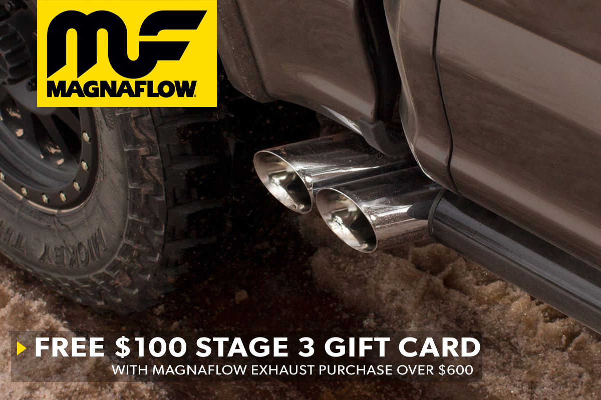 Stage 3's Magnaflow $100 Gift Card Promotion!