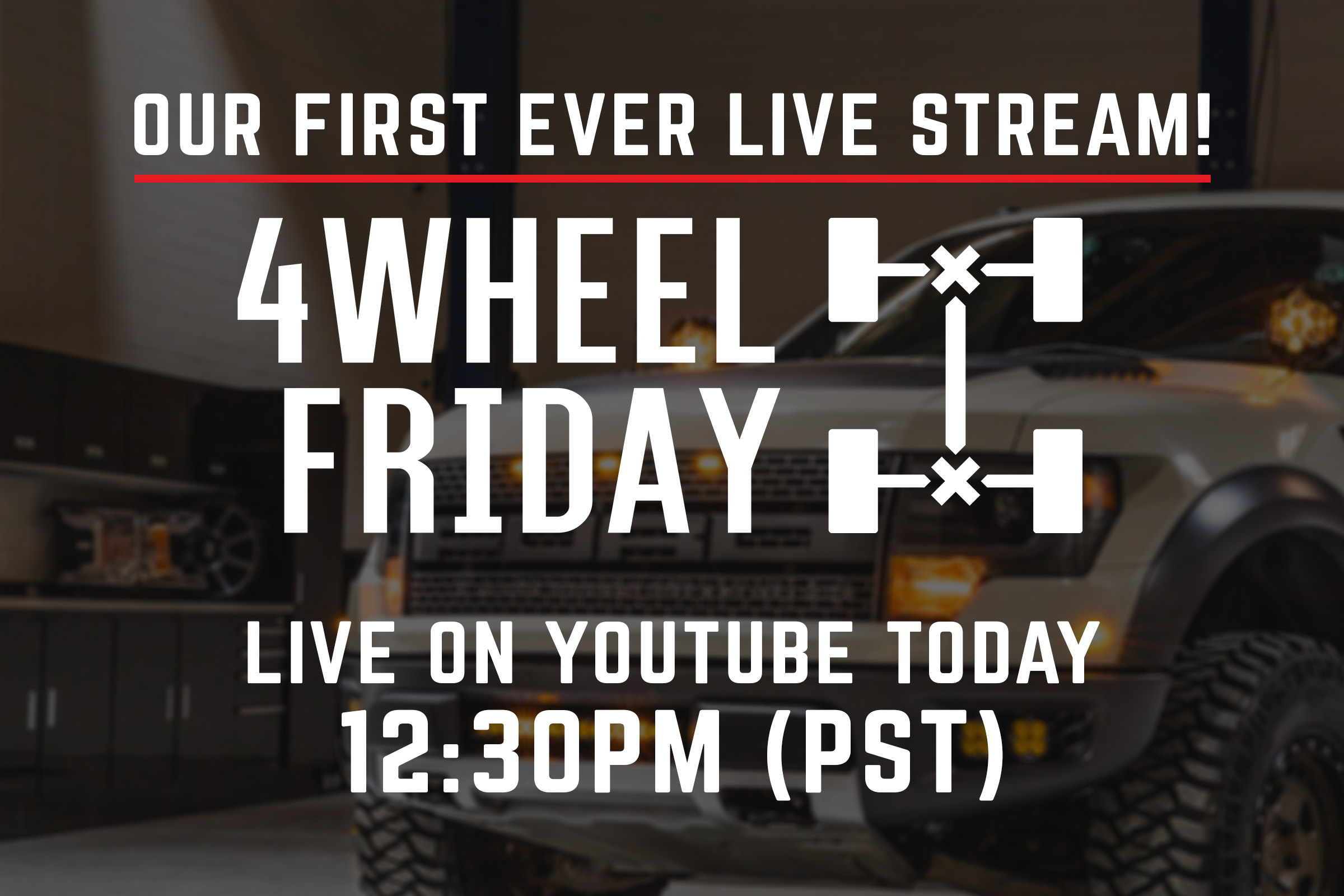 Stage 3's 4Wheel Friday Livestream!