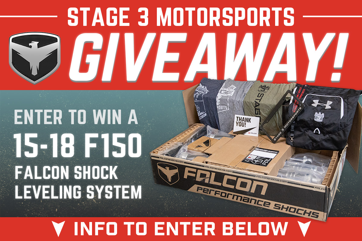 Stage 3's Teraflex Falcon Suspension Giveaway!