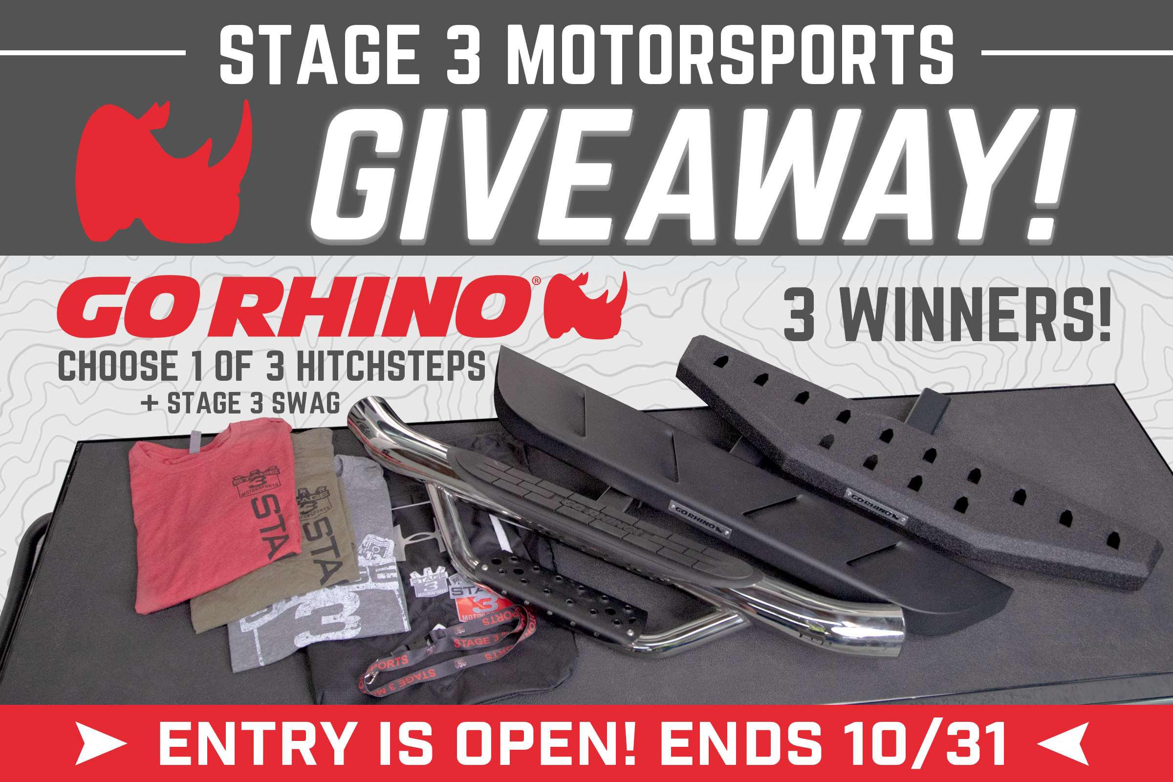 Go Rhino Hitch Step October Giveaway!