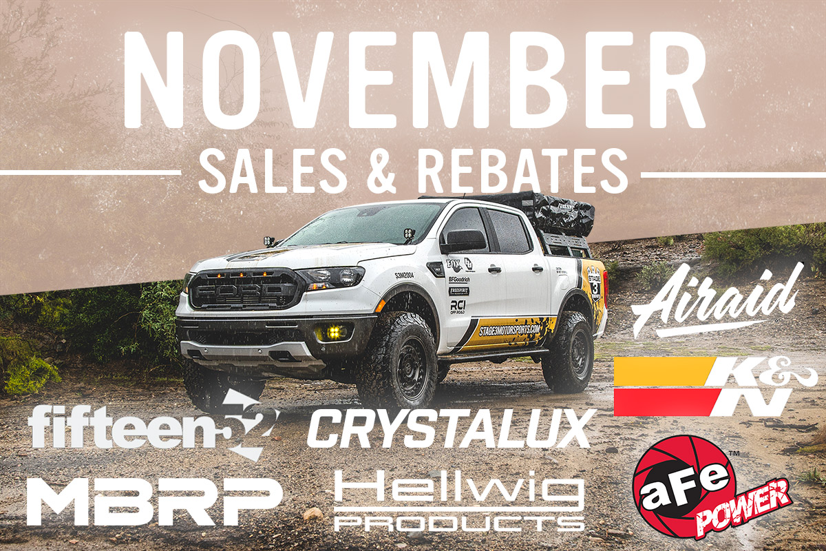 Stage 3's November Sales and Discounts!