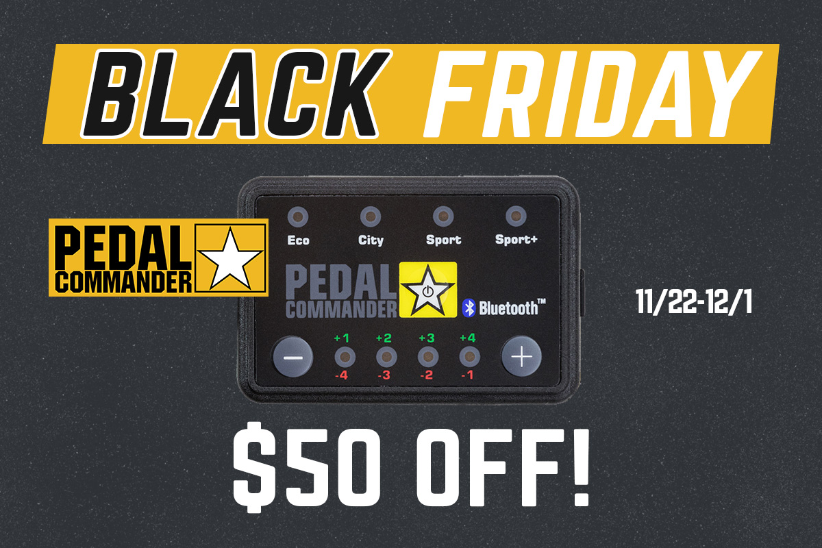 $50 Off Pedal Commander Throttle Modules!