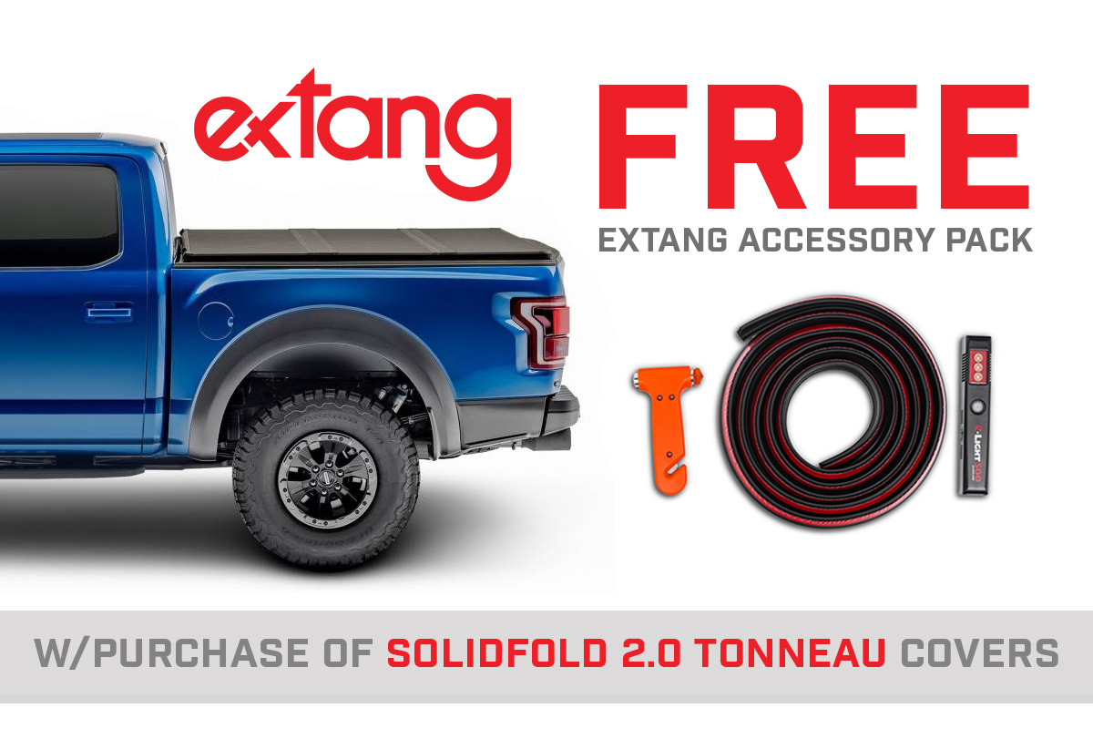 Extang Solid Fold 2.0 Accessory Pack Rebate Now Extended!