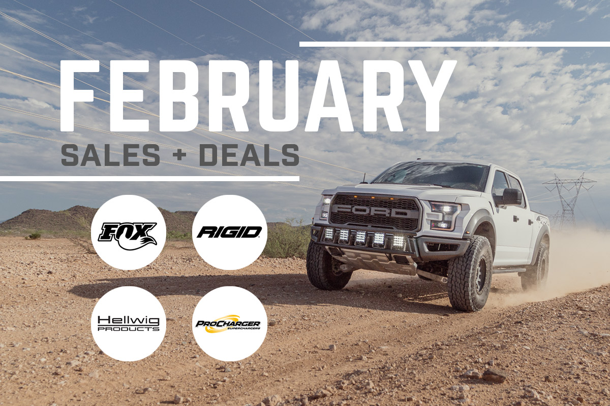 Stage 3's February Deals and Discounts!