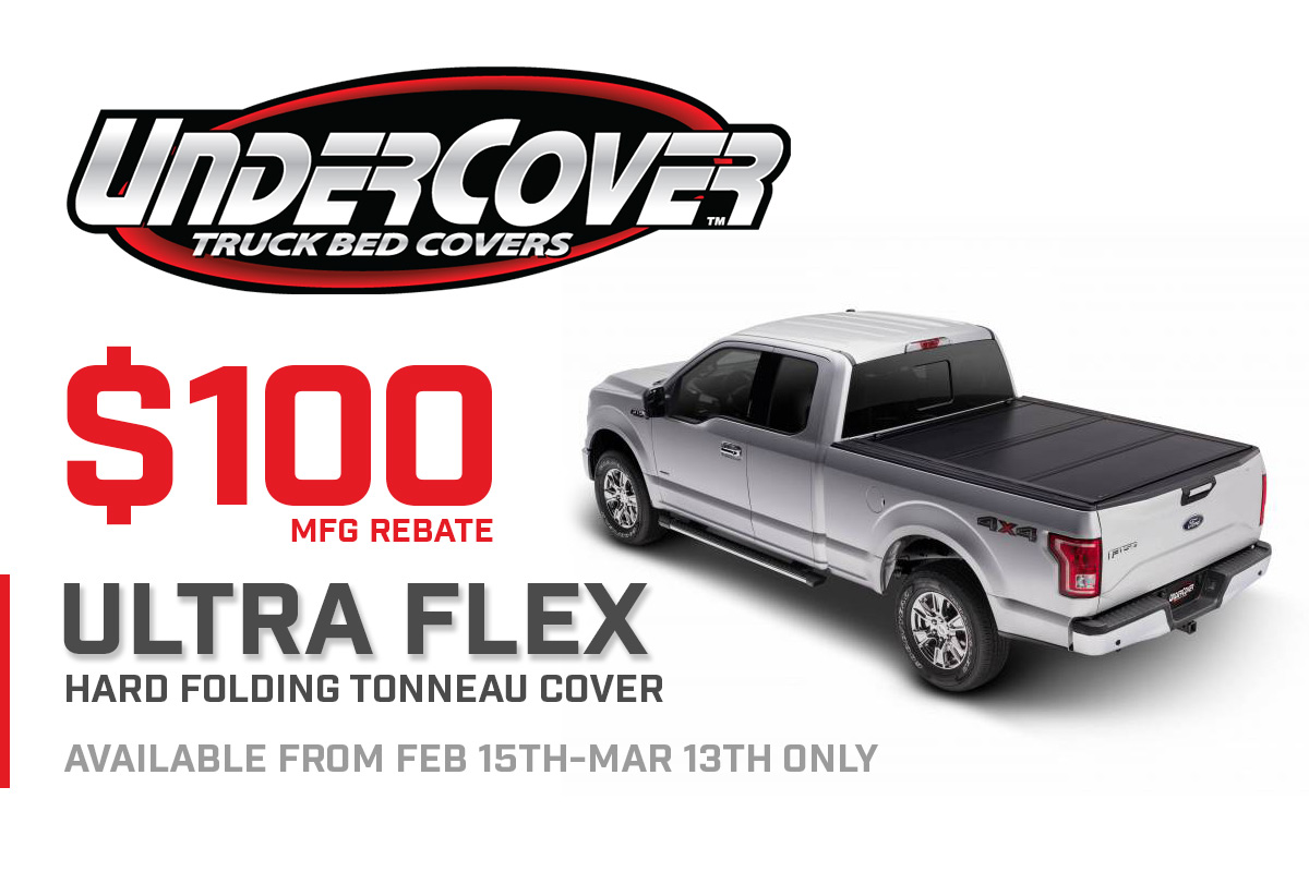 Undercover Ultra Flex $100 Mail-In Rebate!