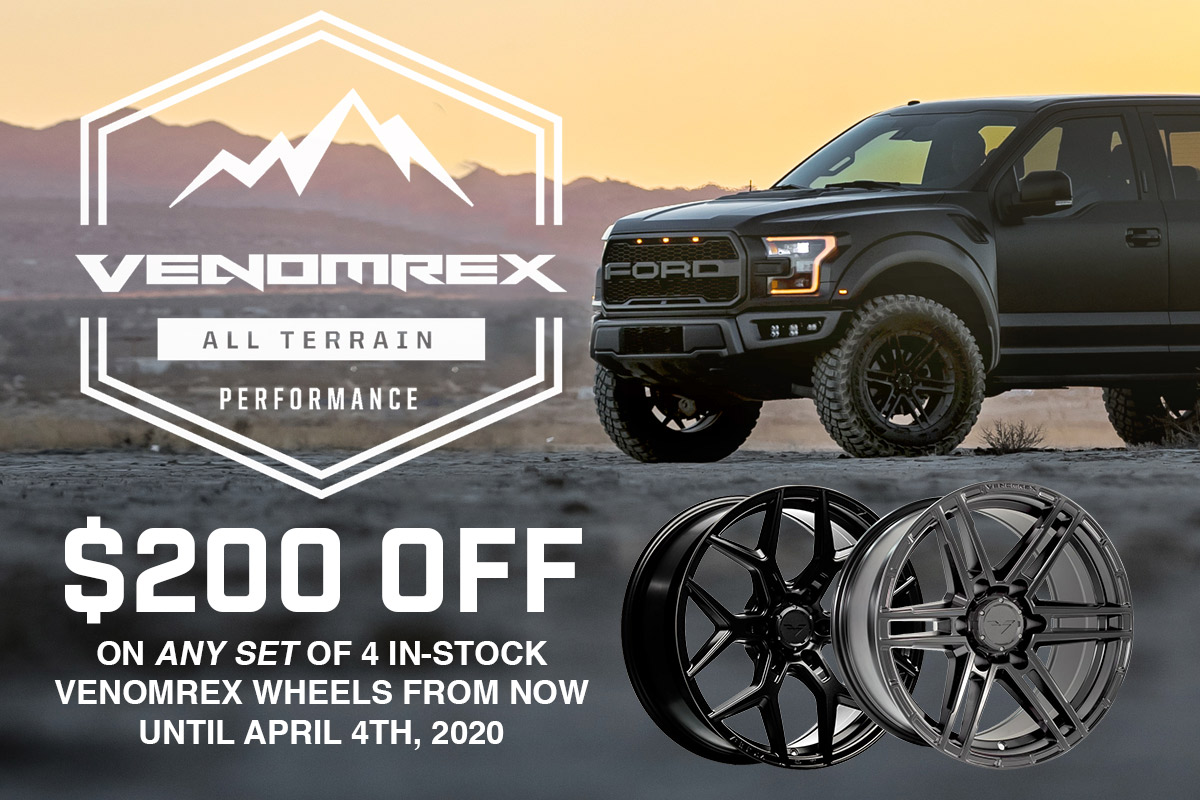 Venomrex $200 Off Tax Season Sales Event!