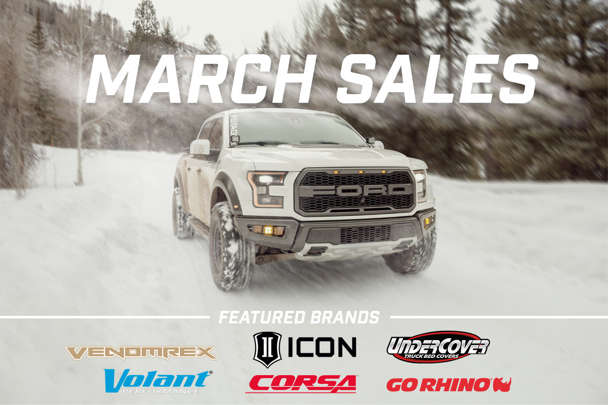 Stage 3's March 2020 Sales & Discounts!