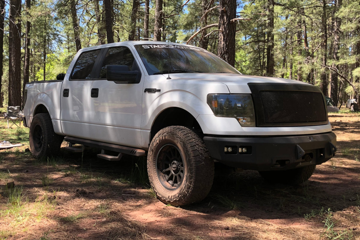 2011 F150 5.0L XL in the Woods