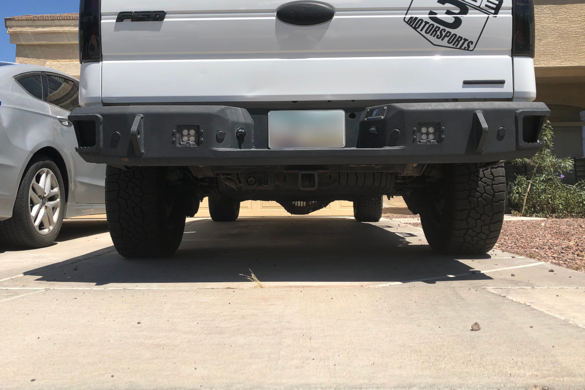 2011 F150 with Larger Spare Tire