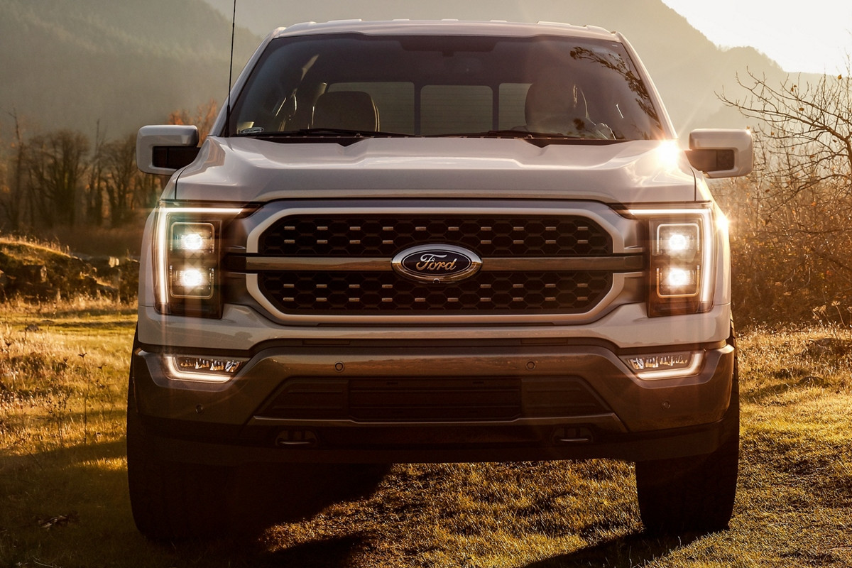 2021 F150 Front End