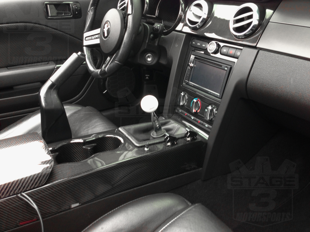 mustang gt interior upgrades