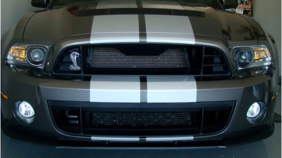 2013 Gt500 Upper And Lower Grilles On A 2011 Gt500