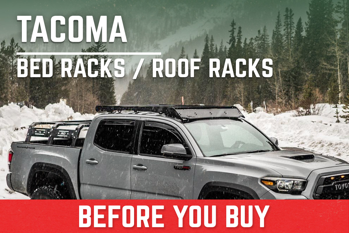 Toyota Tacoma Bed Racks & Roof Racks
