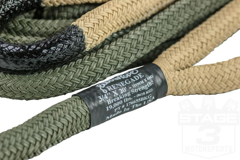 Bubba Rope Quot Renegade Quot Professional Grade Recovery Snatch