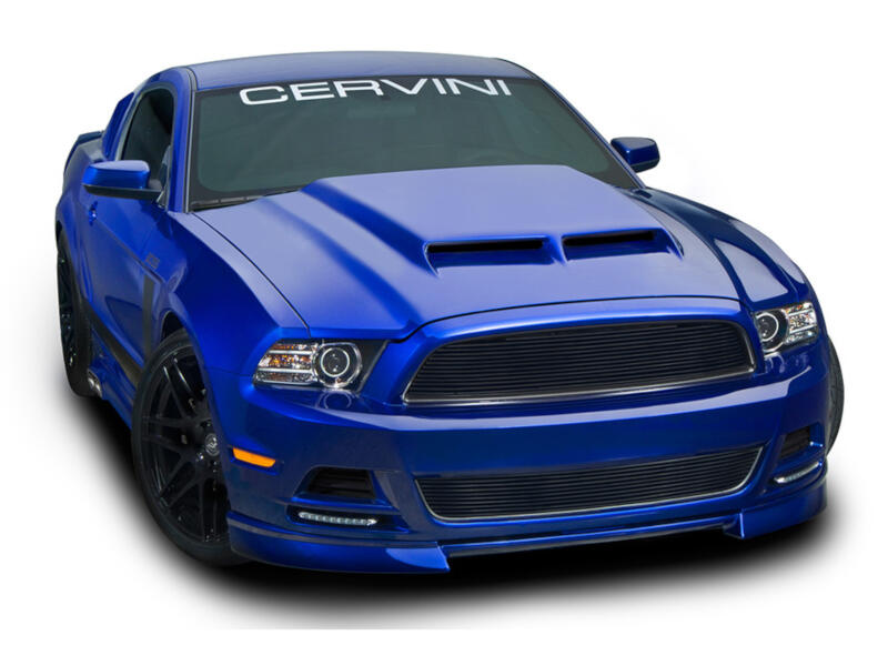 2013 2014 Mustang Cervini S Ram Air Hood 1222