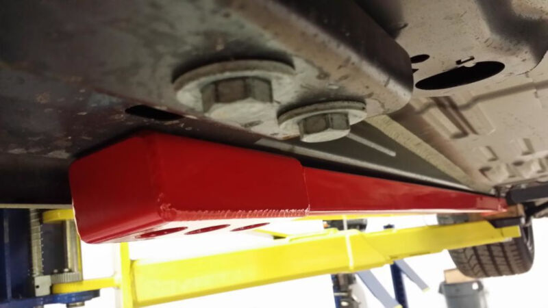 Mustang Bmr Chassis Jacking Rails