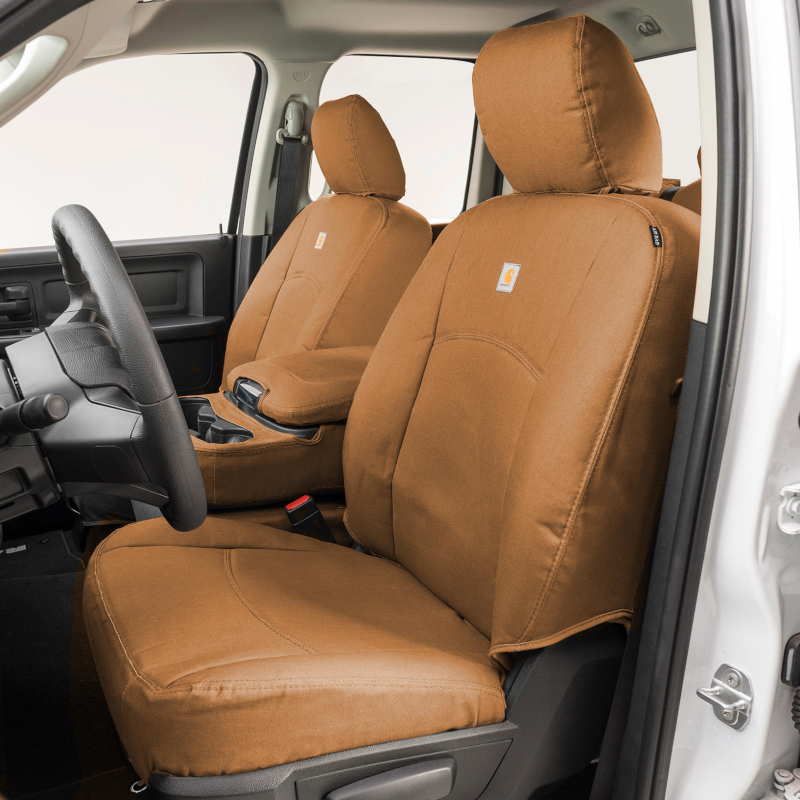 Fabulous 2019 Ford Ranger Lariat Carhartt Front Row Seat Covers Brown Gtf4151Abcabn Machost Co Dining Chair Design Ideas Machostcouk