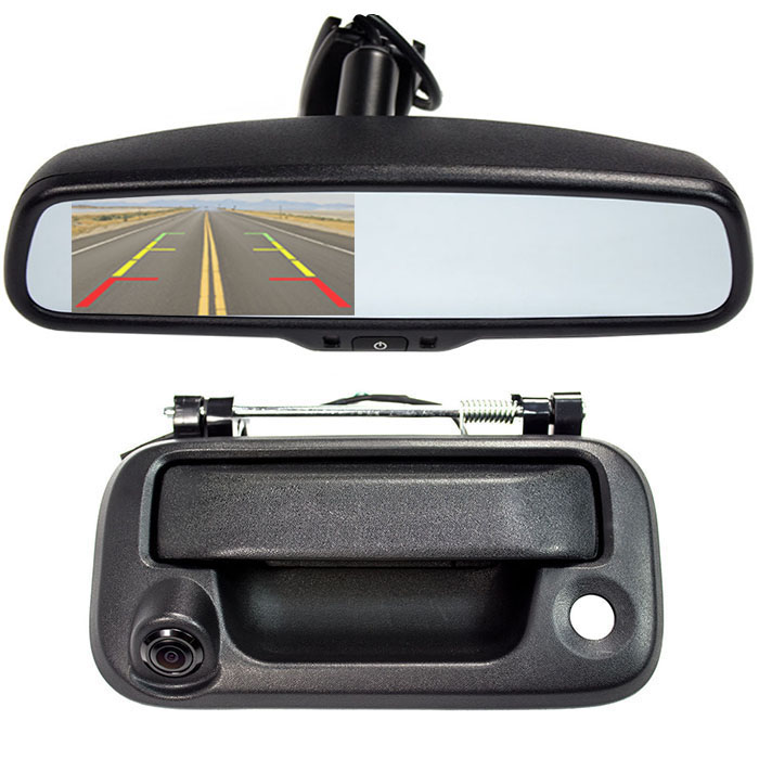 2004 2014 f150 rear view mirror back up camera package sv 6830 fd 9156. Black Bedroom Furniture Sets. Home Design Ideas