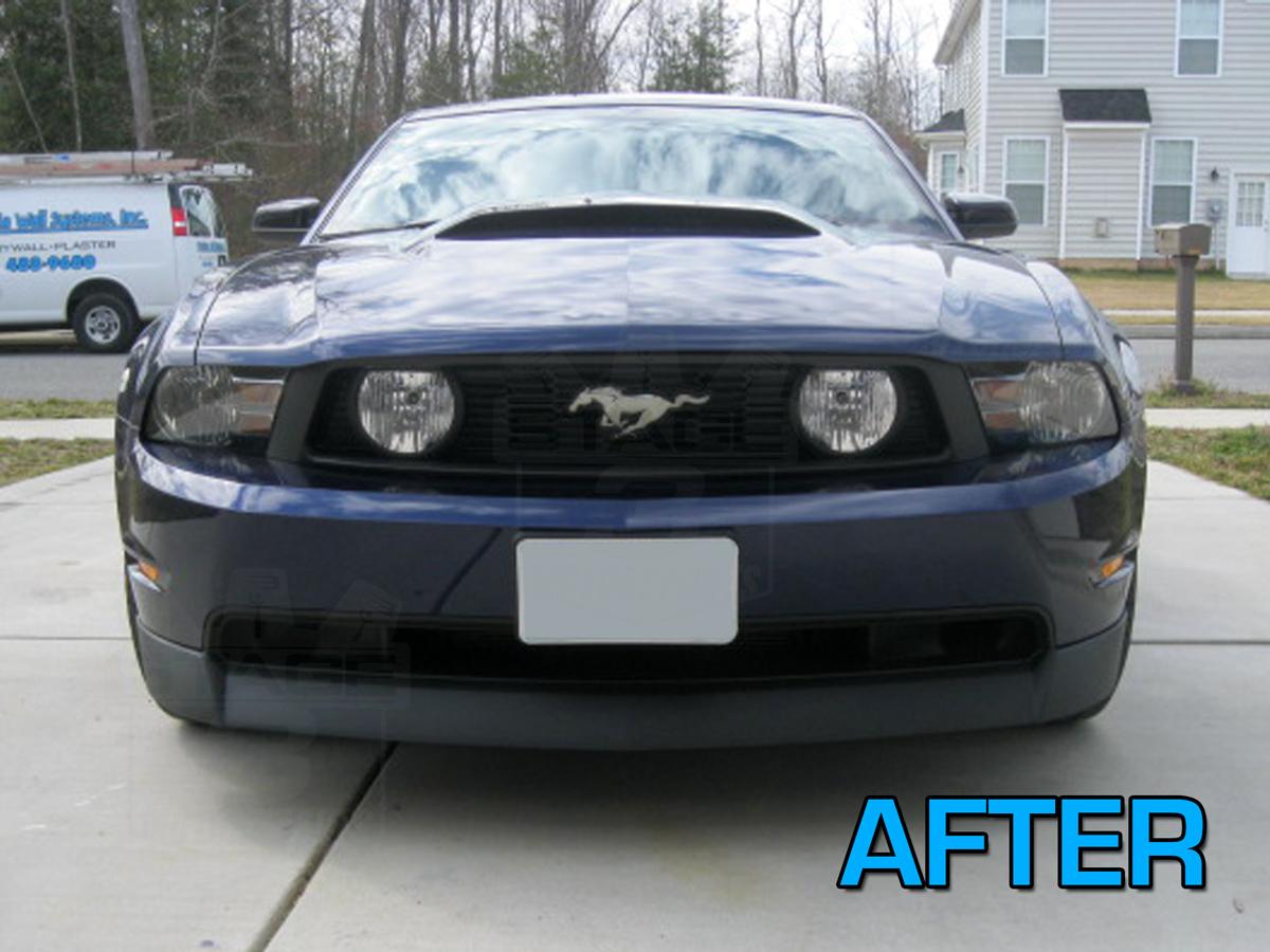 2010 2012 Mustang Gt Cdc Chin Spoiler 1011 7001 01