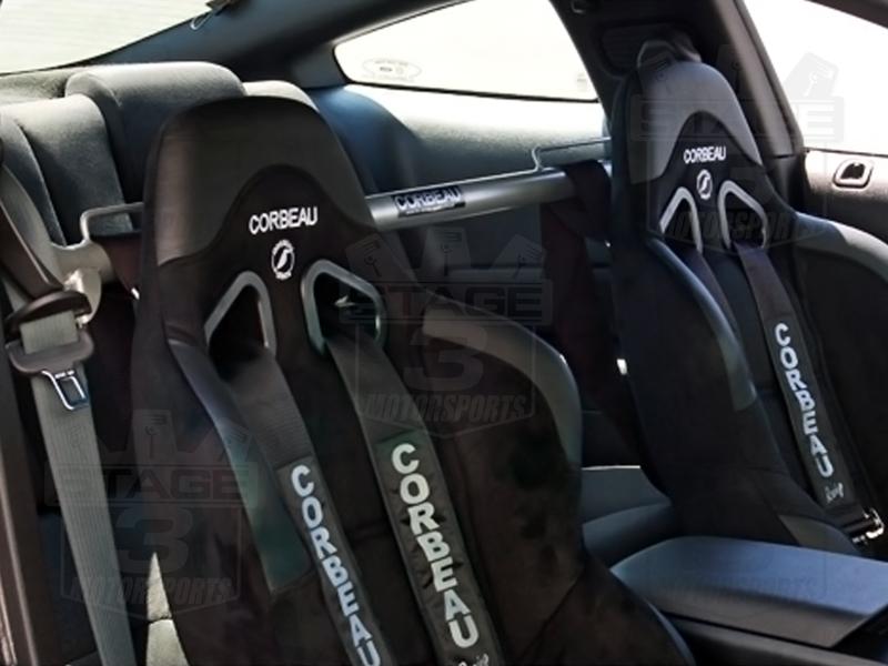 2005 2012 Mustang Coupe Corbeau Harness Bar Harness