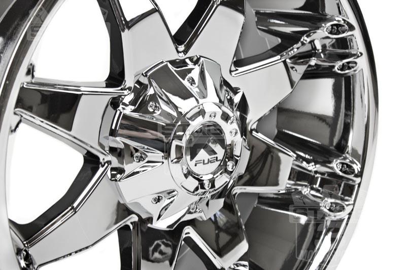fuel octane   wheel xmm mm offset chrome