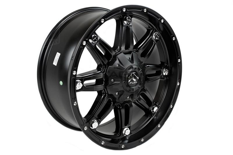 fuel hostage   wheel xmm mm offset matte black