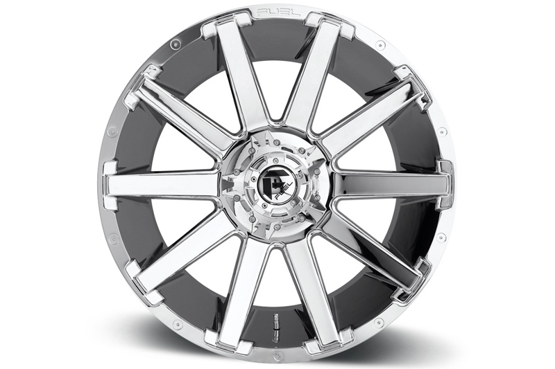 "F250 2019 >> 2004-2019 F150 Fuel Contra 22x12"" D614 Wheel (6x135mm/-44mm Offset) Chrome D61422209847"