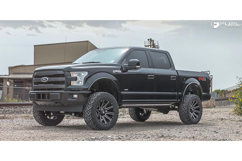 Fuel Wheels 20x9 >> 2004 2019 F150 Fuel Contra 20x9 D616 Wheel 6x135mm 20mm Offset