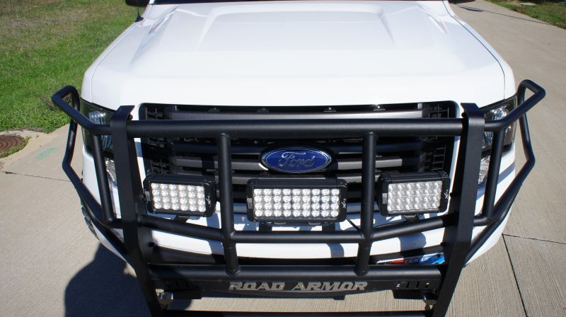 F Road Armor Front Brush Grille Guard