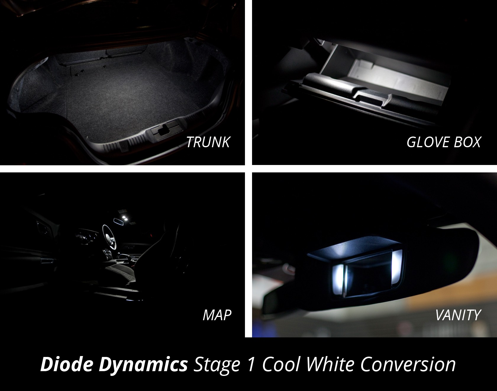 Diode Dynamic 2015 Mustang Interior LED Lights