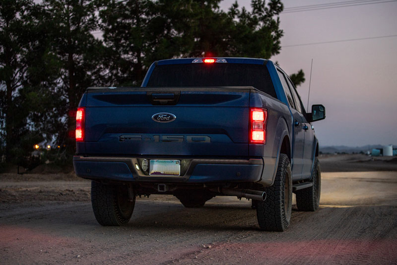 F150 Diode Dynamics LED License Plate lights