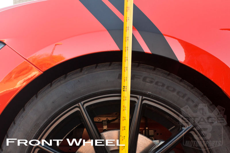 2015 Mustang EcoBoost Eibach Pro Kit Front Ride Height