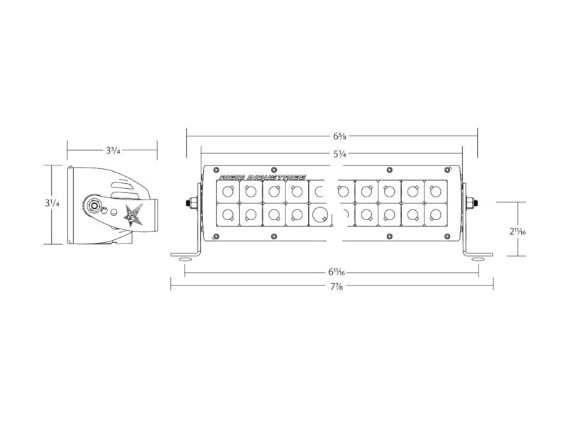 Rigid D2 Light Wire Diagram Schematic Diagrams Wiring E Series Led Electrical Work U2022 Dually Driving Lights
