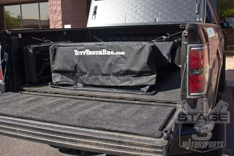 F150 Amp Super Duty Tuff Truck Cargo Bed Storage Bag Black